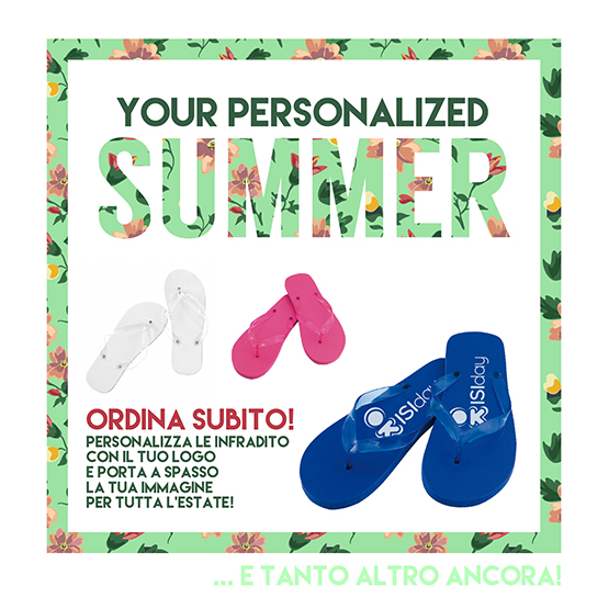 Your Personalized SUMMER - ISIday